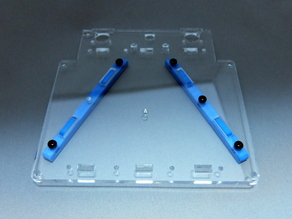 Reinforcing plate No.01 for idbox! 3D printer (Hokyou-ban No.01)