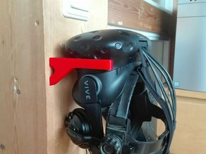 remix of HTC Vive HMD Minimalist Wall Mount