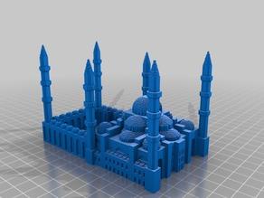 (3D Slash) My_Sultanahmet_Camii1000