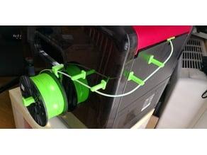 Da Vinci 1.0 Pro Side filament holder system