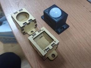 HC-SR501 motion sensor lasercut and print case