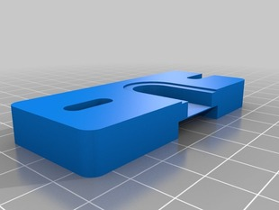 Printable groove mount plate for Jhead + greg wade's modified extruder reloaded