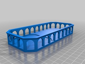 Modified Arch Tray without torches