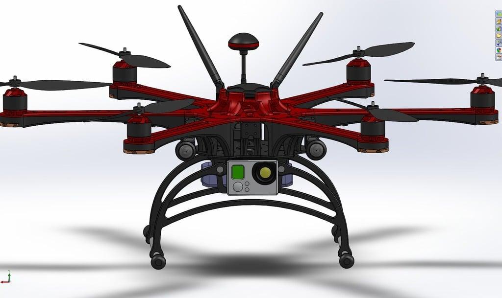 Hexacopter (HC-FIRESTORM) By  JAROLIX by jarolix - Thingiverse