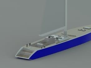 Sailing Yacht Desktop Hull