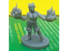 Tiefling Warlock Dual Spell