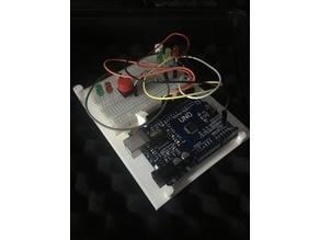 ArduinoUno-MiniBreadboard with sturdy base