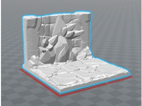 Ore Wall for Rocket Pig Games Mine Set