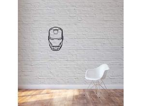 Ironman 2D WALL ART