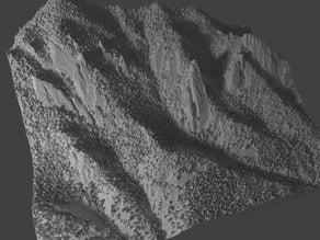 Boulder's Flatirons Climbing Area