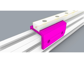 MGN12 rail M3 to M4 adapter