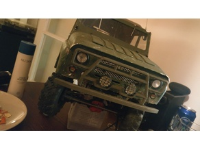 UAZ 1/10 Bumpers and other