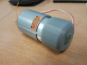 Magnetic encoder holder for 545 DC motor