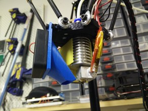 Micromake Kossel Bed Fan Mount (40mm)