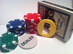 Big Blind Poker Chip