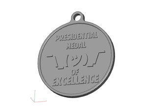 Shruggie Medal of Excellence