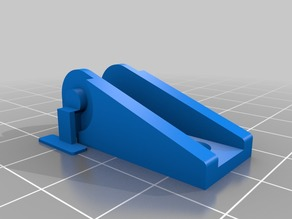 Wanhao i3, MP Select v2, Cocoon Create Cable Chain Bracket (Printable)