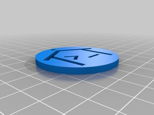 Hackerspace.gr logo keychain