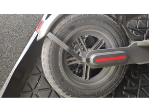 m365 mudguard bracket for 10inch wheels