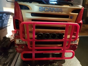 Scania Front Guard Light bar