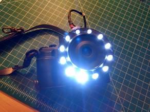 LED Ring Light for Macro Lens