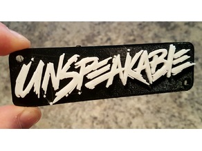 Unspeakable logo