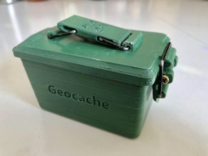 Cache-branded mini ammo can