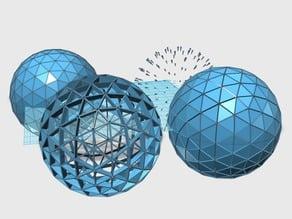 Geodesic Sphere 4V