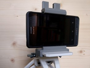 Mobile Phone Holder for the Compact Camera Tripod