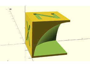 Parameterized Calibration Cube Cave