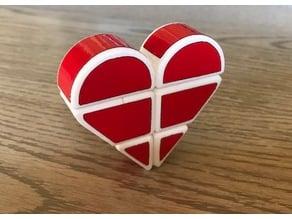 Heart 1x2x3