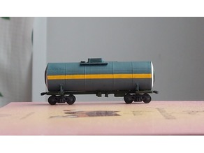 Tank car for caprolactam 1:200
