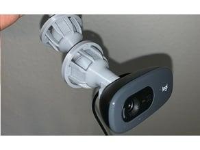 Logitech C270 flexible webcam mount