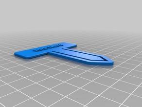 Ima Nerd Bookmark / Paper Clip