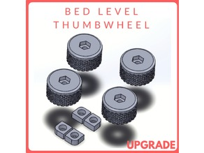 Bed Level Thumb-wheel