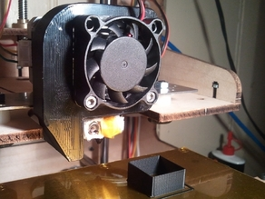 MK7 Extruder Fan Block blower