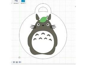 Totoro Keychain