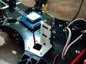 TBS Discovery Video transmitter mount - DJI F450