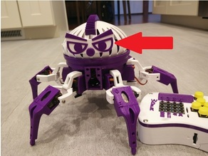 Aggressive Eyes for Vorpal Hexapod