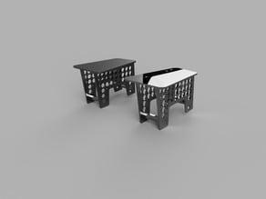 SquatPot - Single Foot 3D Printable Version (REMIX)