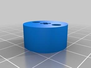 Pololu hub to Lego Axle Connector