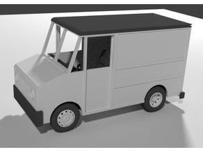 1/18 scale Step Van