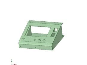 Kossel delta 3d printer RepRapDiscount Full Graphic Smart Controller box