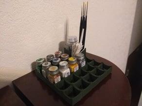 Modular Model Paint Storage