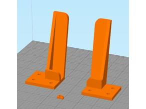 soporte tablet perfil 20x20 y perfil 40x20