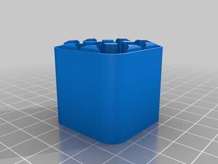 Battery Case 12 AAA - Botom