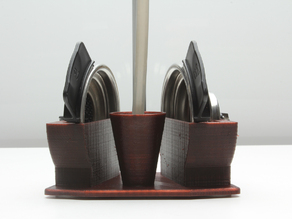 Filter support for pad coffee machine