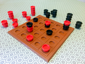 Stackable Abstract Game Pieces