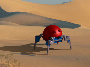 Quadruped Spider Robot