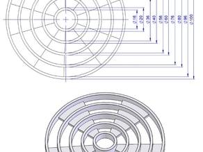 Calibrate hole calibration diamètre
